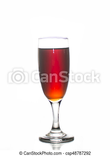 Soft drink in glass - csp48787292