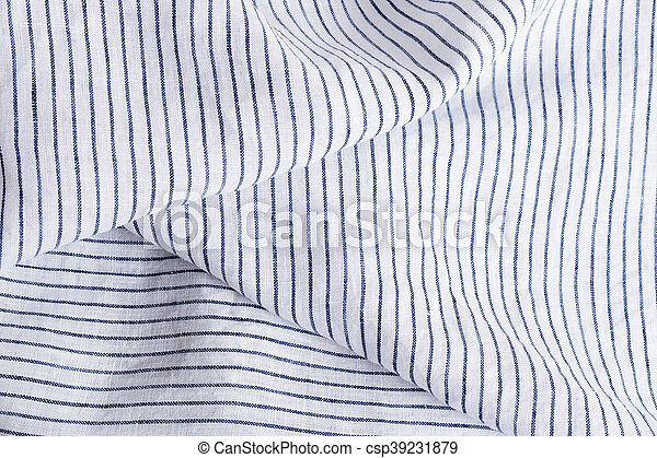 9197bfa7ba Soft fabric with white and blue stripes texture and background.