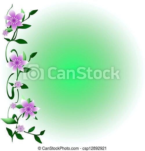 Soft flowering vine pastel flowers on climbing vine gradient soft flowering vine csp12892921 mightylinksfo