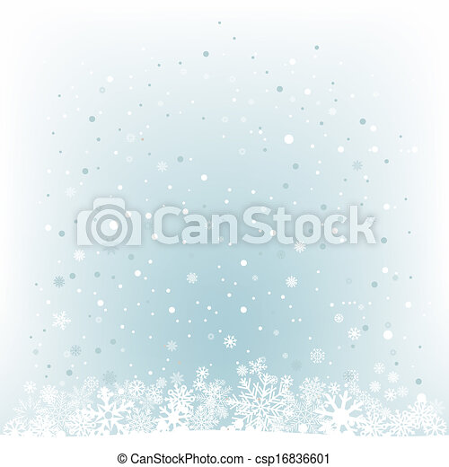 soft light blue snow mesh background - csp16836601