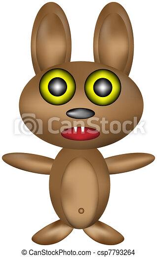 Soft toy - rabbit (hare) - csp7793264