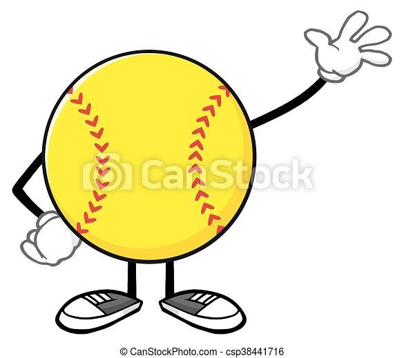 softball faceless character waving softball faceless vector clip rh canstockphoto ca softball batter vector art softball vector clip art