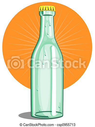 softdrink, botella, cal - csp0955713