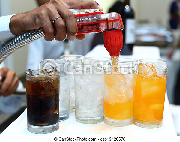 Softdrink dispensor - csp13426576