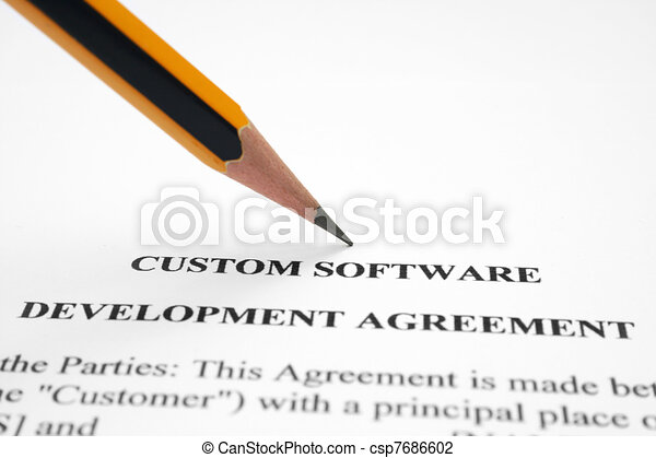 Software Development Agreement Clip Art  Search Illustration