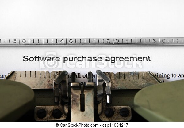 Software Purchase Agreement Clipart Search Illustration Drawings