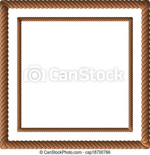 Cuerda marrón en dos tallas - csp18700766