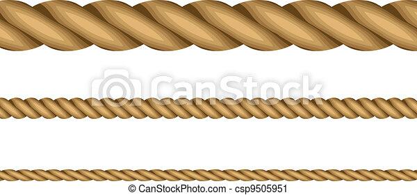 Ilustración de vectores de cuerdas - csp9505951