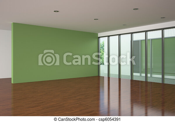 Grigio ardesia e verde mela si incontrano in un soggiorno moderno