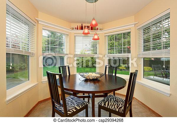 sok, windows., dinning, kedves, terület - csp29394268
