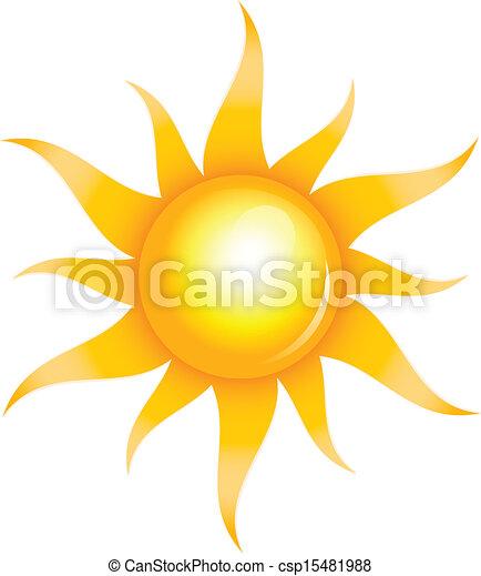 sol, brilhante - csp15481988