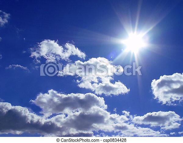sol, cielo - csp0834428