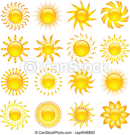 iconos solares - csp4046893