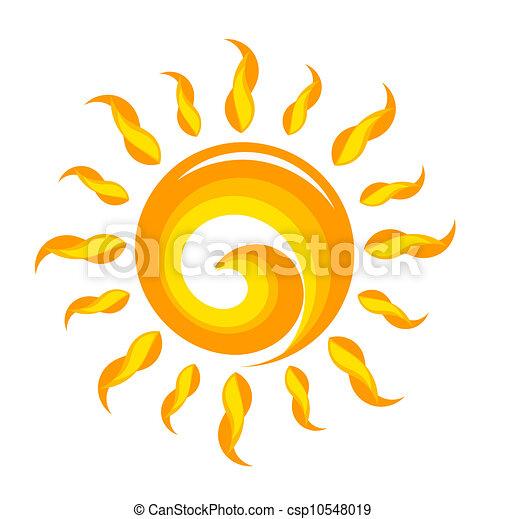 sol, ilustração - csp10548019