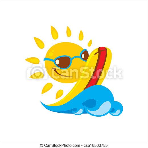 sol, ilustração - csp18503755