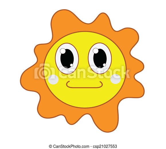 sol, ilustração - csp21027553