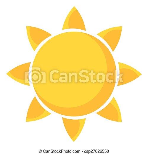 sol, ilustração - csp27026550