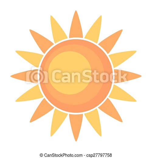 sol, ilustração - csp27797758