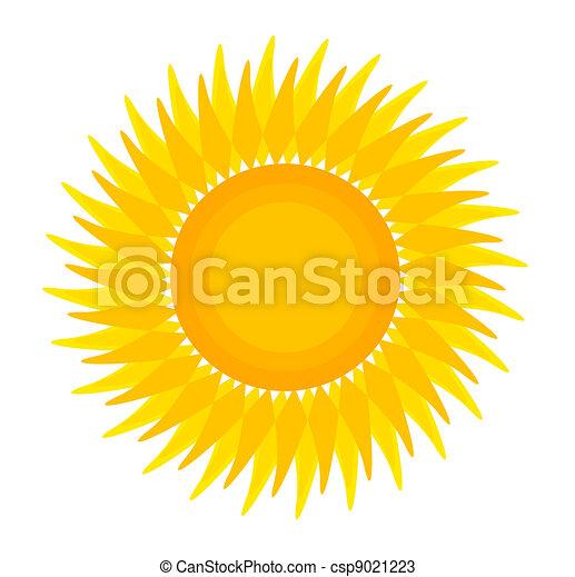sol, ilustração - csp9021223