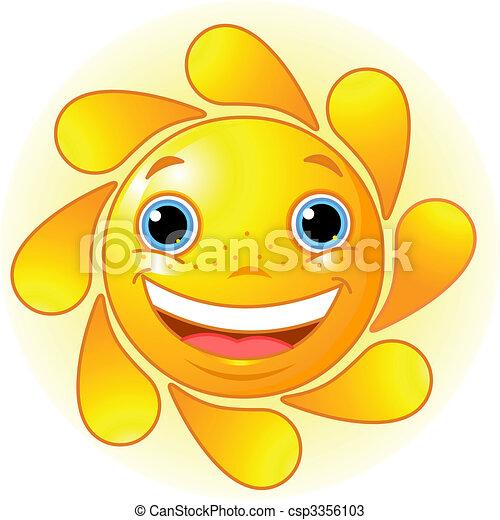Lindo sol - csp3356103