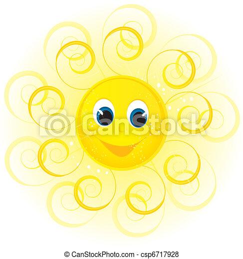 sol, sorrizo - csp6717928