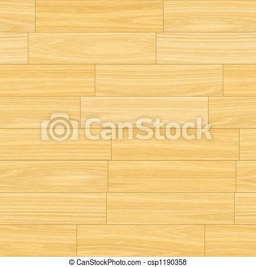 El piso de madera - csp1190358