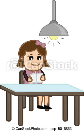solamente, lectura de mujer - csp15016853