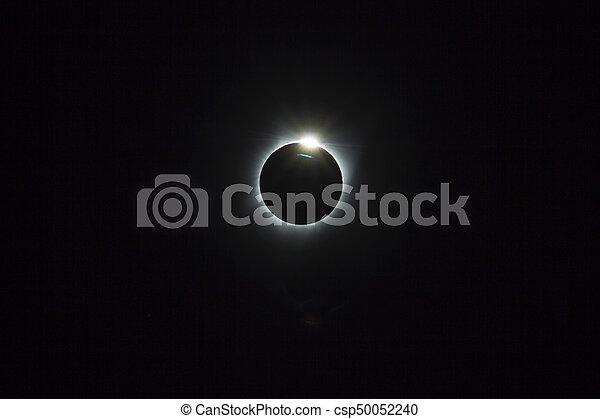 Solar Eclipse 2017 - csp50052240