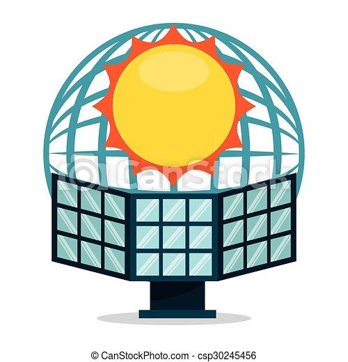solar energy design vector illustration eps10 graphic clipart rh canstockphoto com solar energy clipart images renewable energy clipart