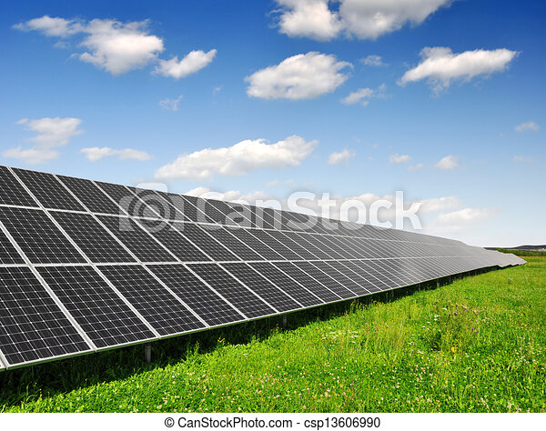 Solar energy panels - csp13606990