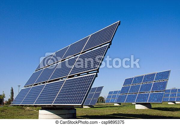 Solar energy panels - csp9895375