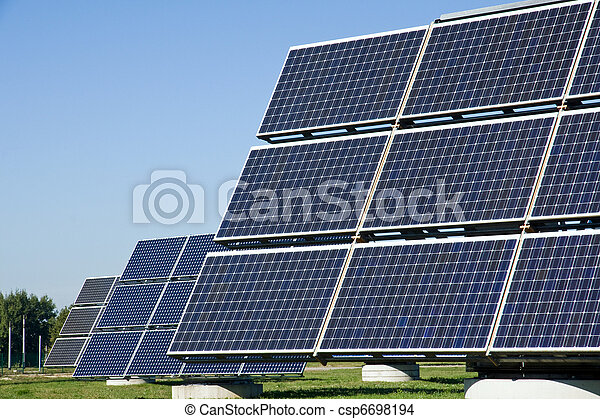 Solar energy panels - csp6698194