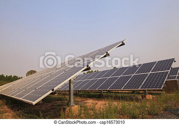 Solar energy plants  - csp16573010