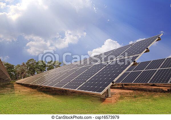 Solar energy plants  - csp16573979