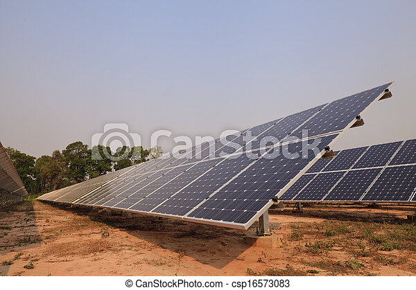 Solar energy plants  - csp16573083
