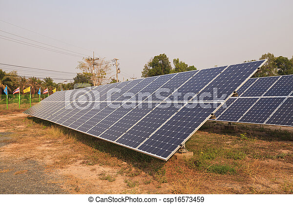 Solar energy plants  - csp16573459