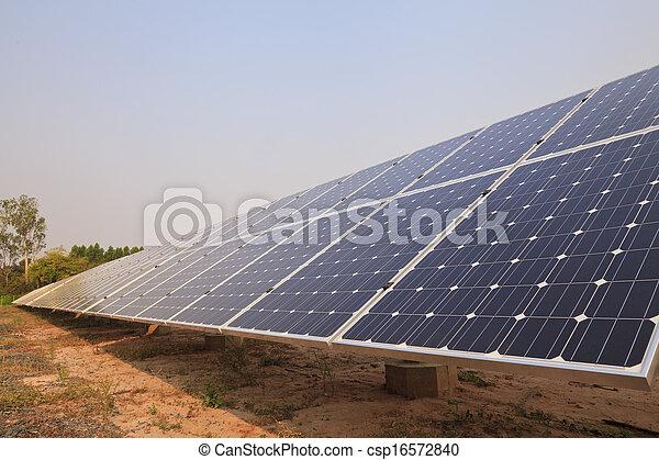 Solar energy plants  - csp16572840