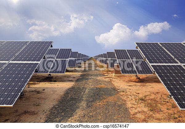 Solar energy plants  - csp16574147