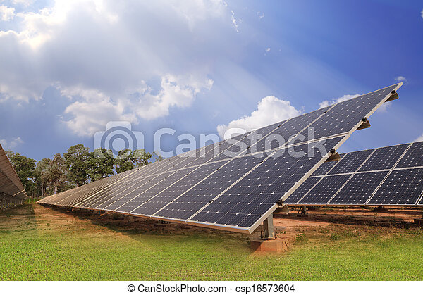 Solar energy plants  - csp16573604