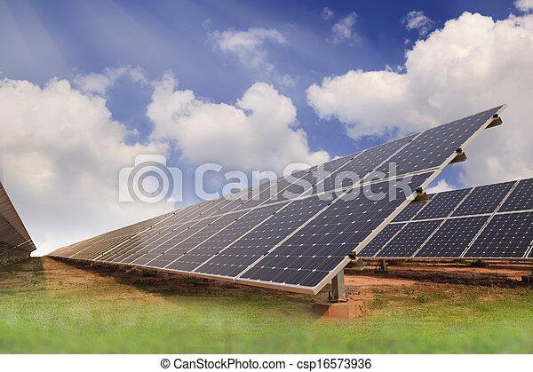 Solar energy plants  - csp16573936