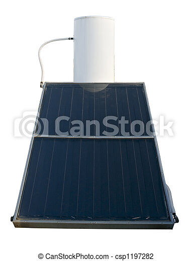 solar energy water heater - csp1197282