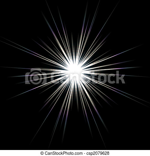 Solar Flare Star Burst - csp2079628