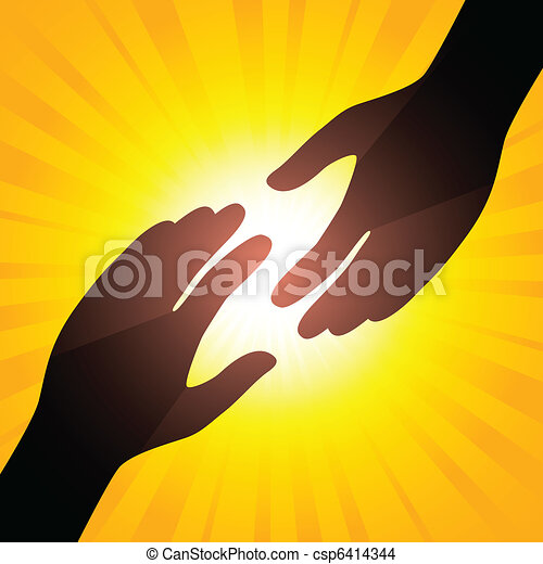 Solar handshake - csp6414344