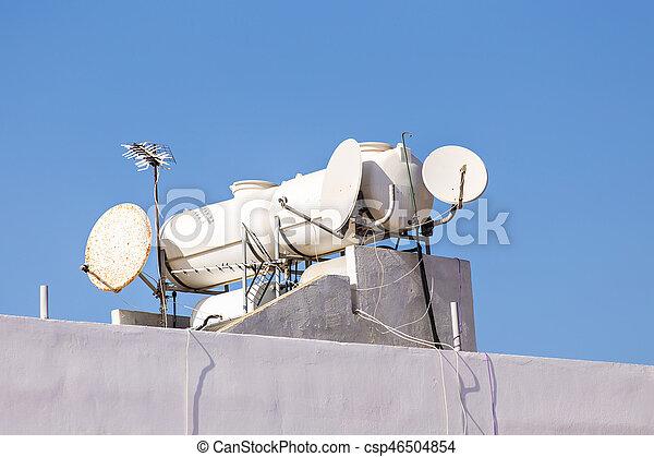 Solar heater for green energy - csp46504854