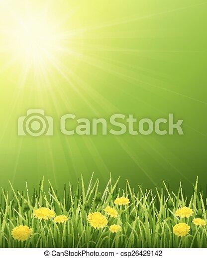 Solar landscape - csp26429142