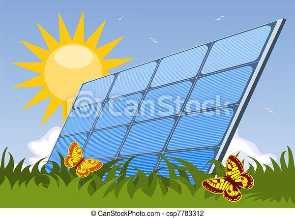 Solar panel - csp7783312