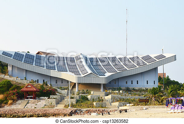 solar panels - csp13263582