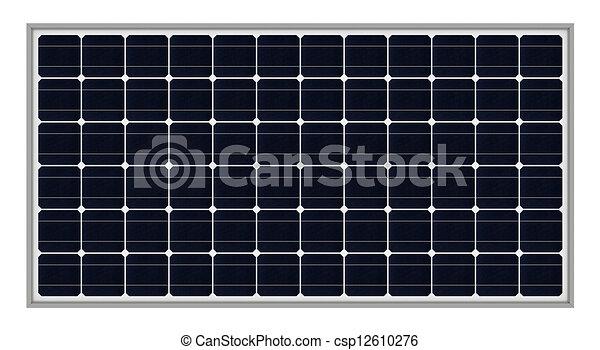 Solar panels  - csp12610276