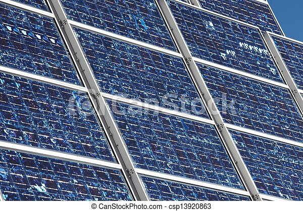 Solar panels - csp13920863