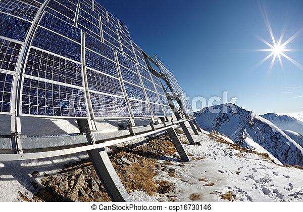 Solar panels - csp16730146